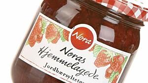 Noras hjemmelagede jordbærsyltetøy
