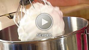 Hvordan stivpiske eggehviter
