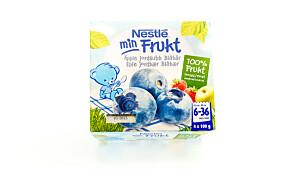 Min Frukt – eple, jordbær, blåbær