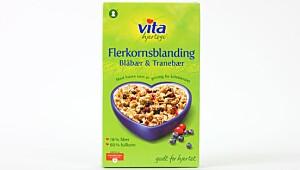 Vita Flerkornsblanding Blåbær & Tranebær