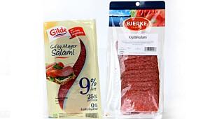Mager salami er en super proteinkilde
