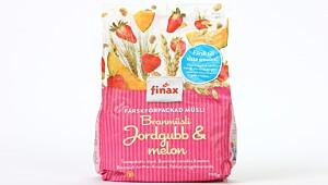 Finax Branmüsli Jordgubb & Melon
