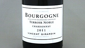 Bourgogne Chardonnay Terroir Noble 2011