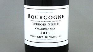 Bourgogne Chardonnay Terroir Noble 2011
