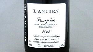 Beaujolais L'Ancien 2012
