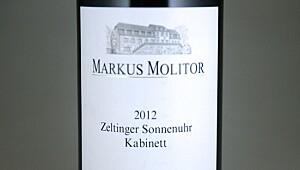 Molitor Zeltinger Sonnenuhr Riesling Kabinett 2012