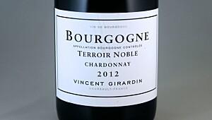 Bourgogne Chardonnay Terroir Noble 2012