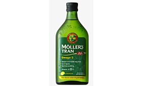 Møllers Tran Omega 3 med sitronsmak