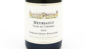 Génot-Boulanger Meursault Clos de Cromin 2012