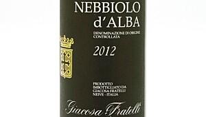 Giacosa Nebbiolo d'Alba 2012