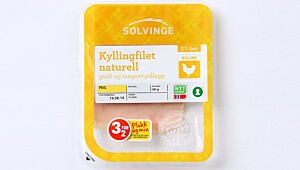 Solvinge Kyllingfilet naturell