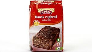 Dansk rugbrød med surdeig