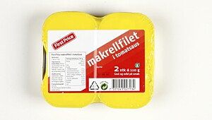 First Price Makrellfilet
