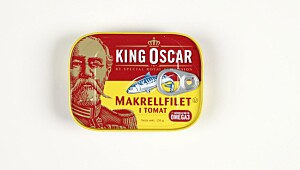 King Oscar Makrellfilet i tomat