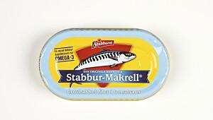 Stabbur-Makrell grovhakket filet i tomatsaus