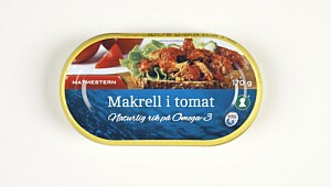 Matmesteren Makrell i tomat