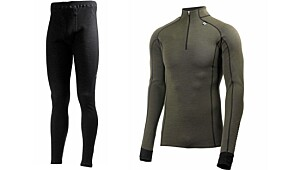 Helly Hansen - WarmFreeze Half Zip og Prowool Pant