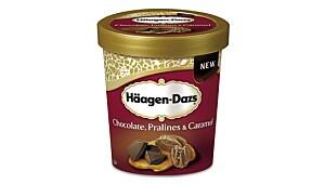 Hâagen Dazs Chocolate, pralines & Caramel