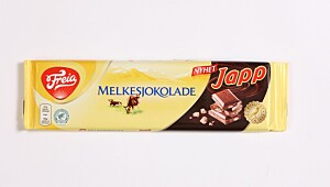 Melkesjokolade med Japp