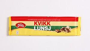 Melkesjokolade med Kvikk Lunsj