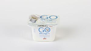 Gomorgen naturell yoghurt med nøttecrüsli
