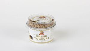 Gresk yoghurt ekte vanilje med granola