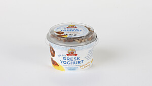 Gresk yoghurt pekannøtter og honning