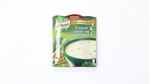 Knorr Kremet purre-og potetsuppe