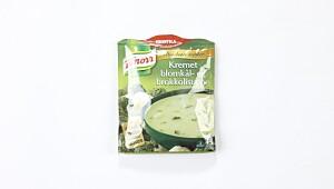 Knorr kremet blomkål- og brokkolisuppe