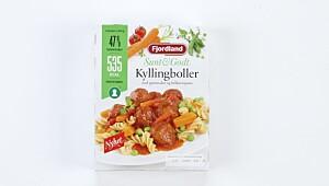 Sunt&Godt Kyllingboller med grønnsaker og fullkornspasta