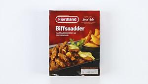 Biffsnadder med krydderpoteter og bearnaisesaus