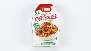 Toro Spaghetti med kjøttboller i tomatsaus