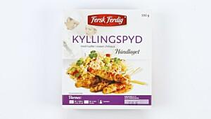 Fersk & Ferdig Kyllingspyd med nudler i sweet chilisaus