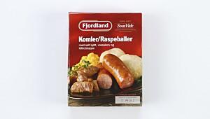 Komler/Raspeballer med salt kjøtt, vossakorv og kålrotstappe