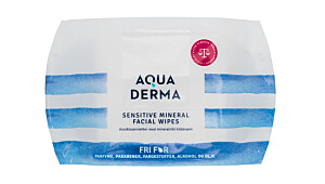 Aqua Derma Sensitive Mineral Facial Wipes
