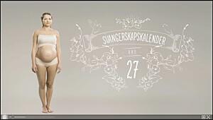 Gravid uke 27, se video