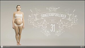 Gravid uke 31, se video
