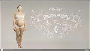 Gravid uke 33, se video