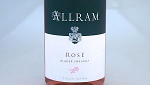 Allram Blauer Zweigelt Rosé 2011