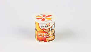 Yoplait Safari apeyoghurt fersken