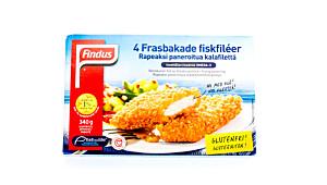 Findus 4 frasbakte fiskefileter (glutenfri)