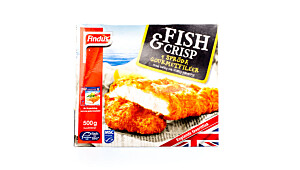Findus Fish & Crisp 4 gourmetfileter