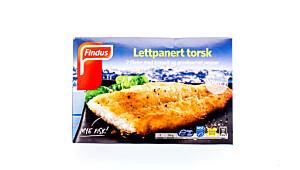 Findus lettpanert torsk