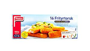 Findus 16 Frityrtorsk