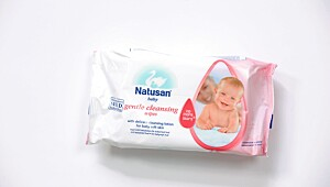 Produkt med parfyme: Natusan Baby gentle cleansing wipes