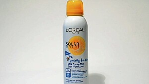 L'Oreal solar expertise spray