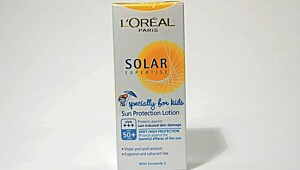 L'Oreal solar expertise lotion
