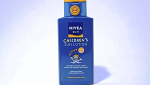 Nivea children's sun lotion