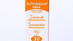 Alphanova baby sun milk, faktor 30