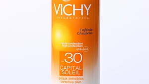 Vichy Capital soleil barn multiposition spray, faktor 30